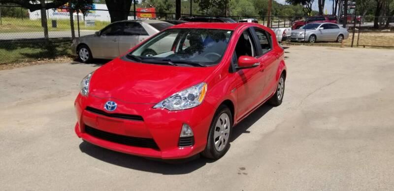2014 Toyota Prius c for sale at STX Auto Group in San Antonio TX