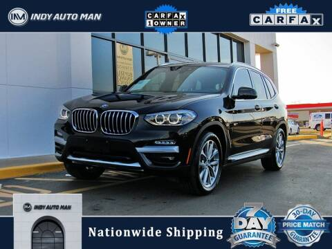 2019 BMW X3 for sale at INDY AUTO MAN in Indianapolis IN