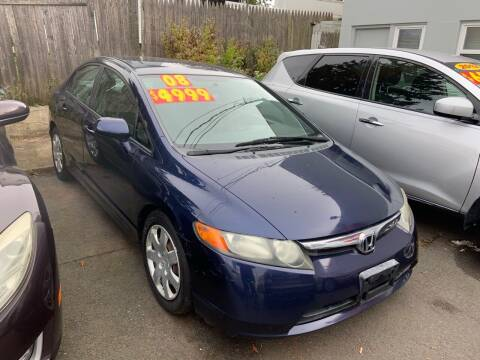 2008 Honda Civic for sale at Metro Auto Exchange 2 in Linden NJ