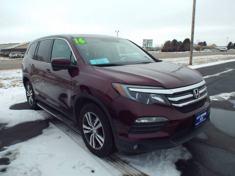 2016 Honda Pilot for sale at G & K Supreme in Canton SD