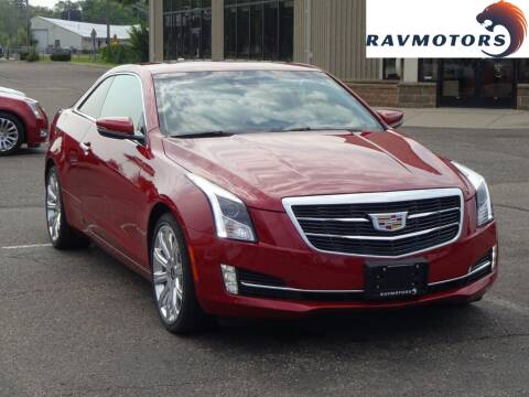 2015 Cadillac ATS for sale at RAVMOTORS 2 in Crystal MN