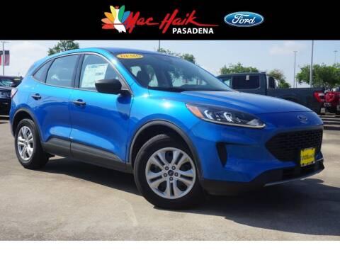 2020 Ford Escape for sale at Mac Haik Ford Pasadena in Pasadena TX