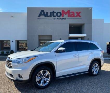 2016 Toyota Highlander for sale at AutoMax of Memphis in Memphis TN