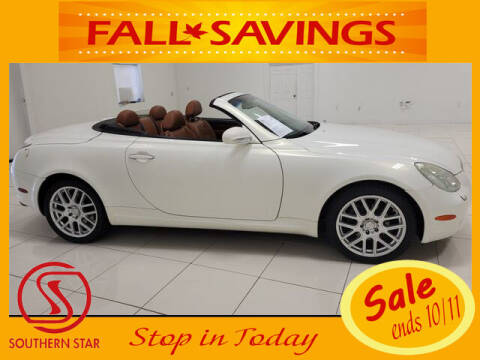 2003 Lexus SC 430 for sale at Southern Star Automotive, Inc. in Duluth GA