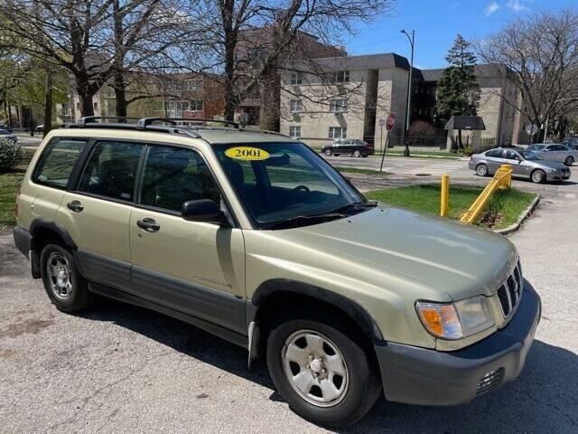 2001 Subaru Forester for sale at L & L Auto Sales in Chicago IL