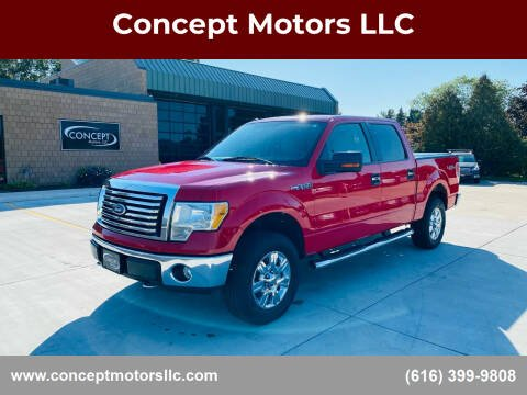 2010 Ford F-150 for sale at Concept Motors LLC in Holland MI
