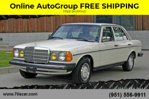 1983 Mercedes-Benz 240-Class for sale at Online AutoGroup FREE SHIPPING in Riverside CA