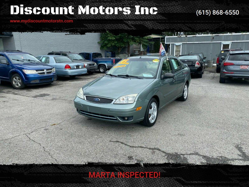 2005 Ford Focus for sale at Discount Motors Inc in Madison TN