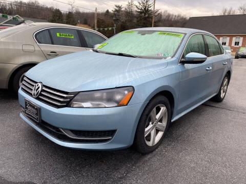 2012 Volkswagen Passat for sale at McNamara Auto Sales - Hanover Lot in Hanover PA