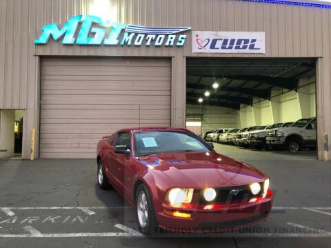 2008 Ford Mustang for sale at MGI Motors in Sacramento CA