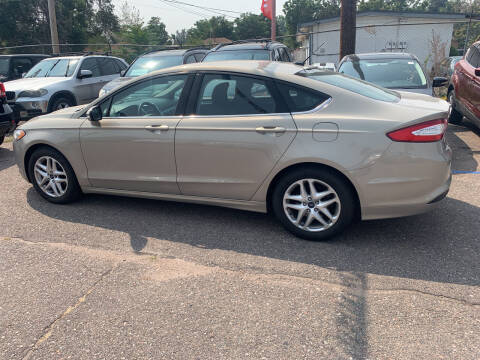 2015 Ford Fusion for sale at Nations Auto Inc. II in Denver CO