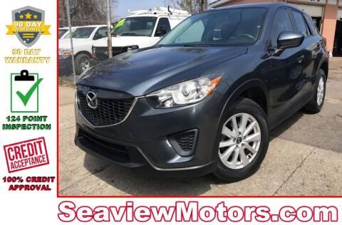 2013 Mazda CX-5 for sale at Seaview Motors and Repair LLC in Bridgeport CT