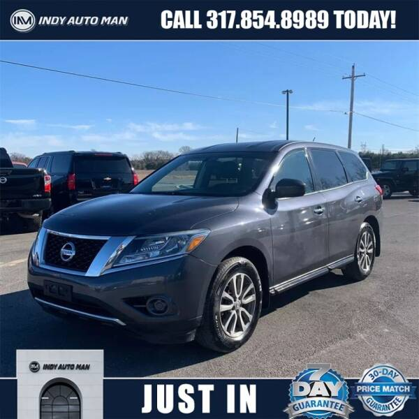 2014 Nissan Pathfinder for sale at INDY AUTO MAN in Indianapolis IN