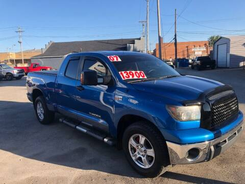 2007 Toyota Tundra for sale at Kramer Motor Co INC in Shelbyville IN