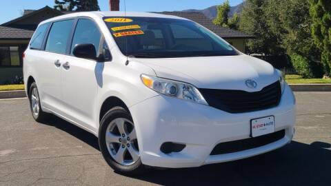 2011 Toyota Sienna for sale at CAR CITY SALES in La Crescenta CA