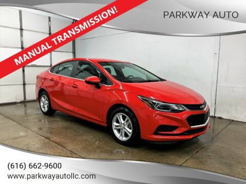 2016 Chevrolet Cruze for sale at PARKWAY AUTO in Hudsonville MI