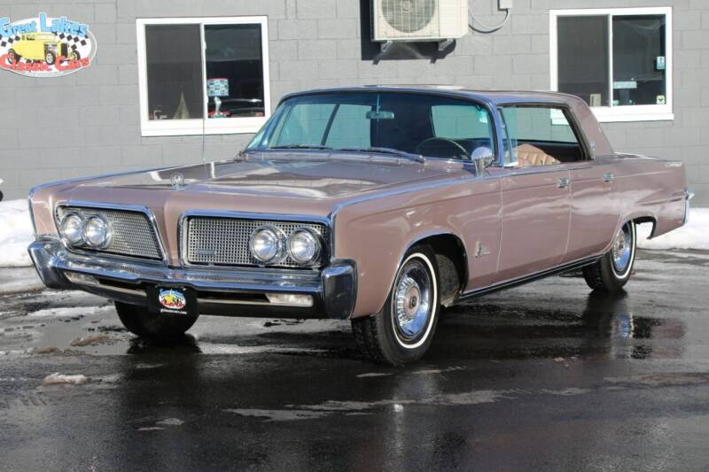 1964 Chrysler Imperial for sale at Great Lakes Classic Cars & Detail Shop in Hilton NY