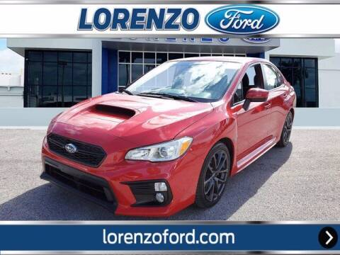 2018 Subaru WRX for sale at Lorenzo Ford in Homestead FL