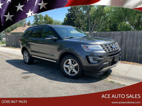2017 Ford Explorer for sale at Ace Auto Sales in Boise ID
