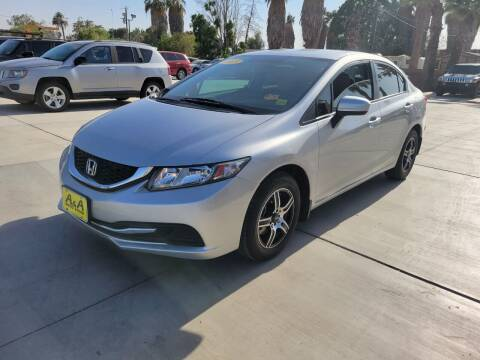 2015 Honda Civic for sale at A AND A AUTO SALES in Gadsden AZ