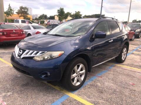 2010 Nissan Murano for sale at Trans Copacabana Auto Sales in Hollywood FL