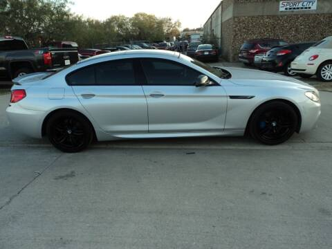 2014 BMW 6 Series for sale at SPORT CITY MOTORS in Dallas TX