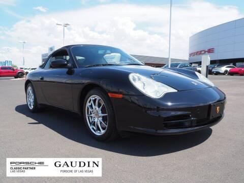 2003 Porsche 911 for sale at Gaudin Porsche in Las Vegas NV