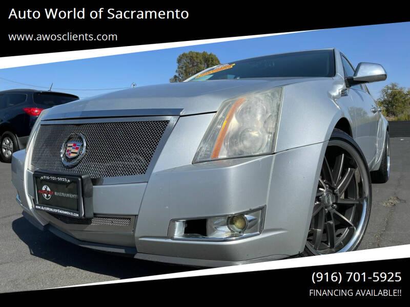 2009 Cadillac CTS for sale at Auto World of Sacramento Stockton Blvd in Sacramento CA