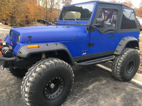 1987 Jeep Wrangler for sale at Ted Davis Auto Sales in Riverton WV