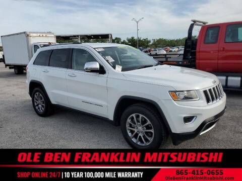 2014 Jeep Grand Cherokee for sale at Ole Ben Franklin Mitsbishi in Oak Ridge TN