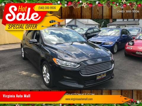 2013 Ford Fusion for sale at Virginia Auto Mall in Woodford VA