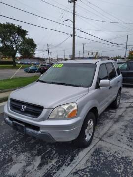 2003 Honda Pilot for sale at D and D All American Financing in Warren MI