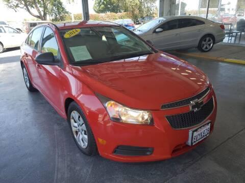 2014 Chevrolet Cruze for sale at Sac River Auto in Davis CA