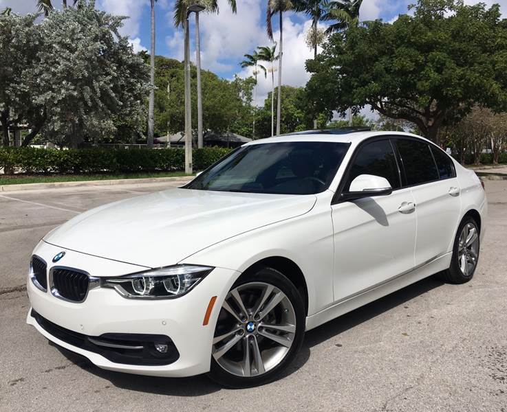 2016 BMW 3 Series for sale at FIRST FLORIDA MOTOR SPORTS in Pompano Beach FL