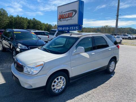 2007 Buick Rendezvous for sale at Billy Ballew Motorsports in Dawsonville GA