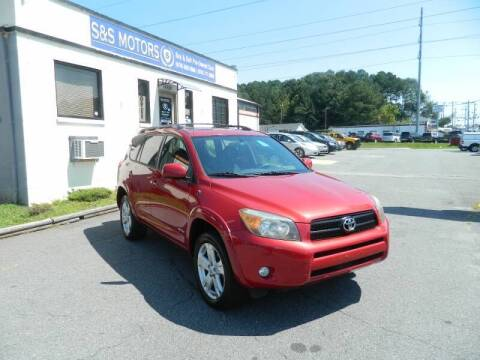 2007 Toyota RAV4 for sale at S & S Motors in Marietta GA