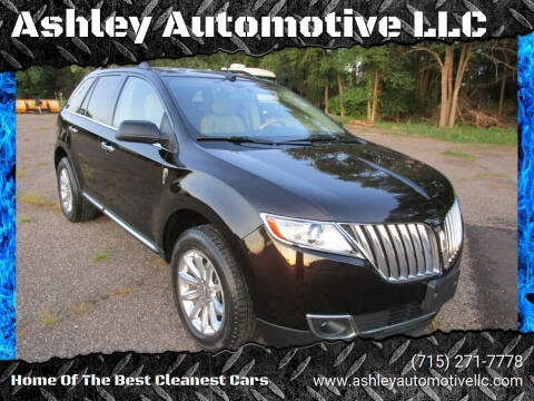 2013 Lincoln MKX for sale at Ashley Automotive LLC in Altoona WI