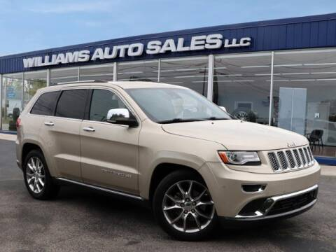 2015 Jeep Grand Cherokee for sale at Williams Auto Sales, LLC in Cookeville TN