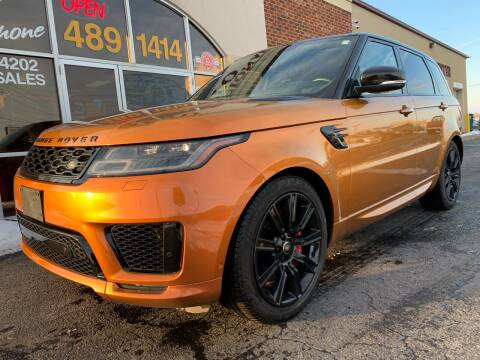 2018 Land Rover Range Rover Sport for sale at Professional Auto Sales & Service in Fort Wayne IN