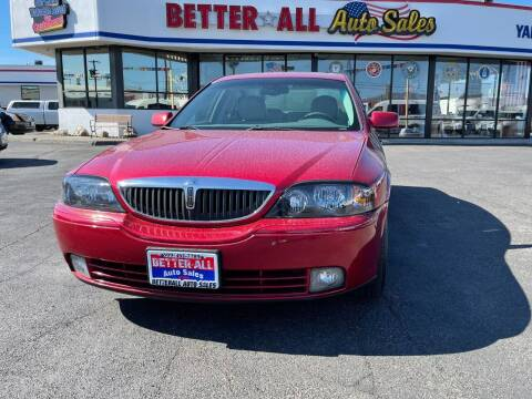 2005 Lincoln LS for sale at Better All Auto Sales in Yakima WA