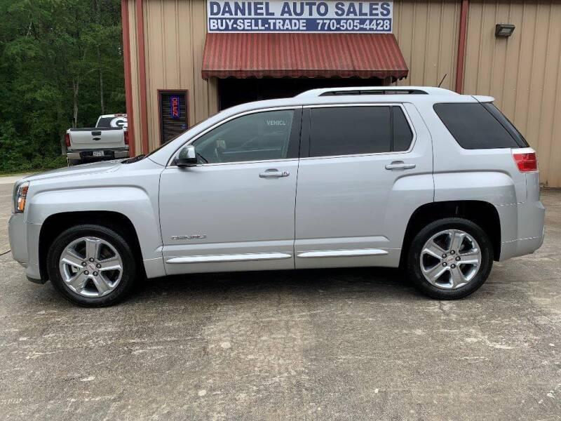 2015 GMC Terrain for sale at Daniel Used Auto Sales in Dallas GA