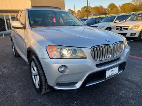 2011 BMW X3 for sale at KAYALAR MOTORS in Houston TX