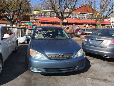 2002 Toyota Camry for sale at Chambers Auto Sales LLC in Trenton NJ