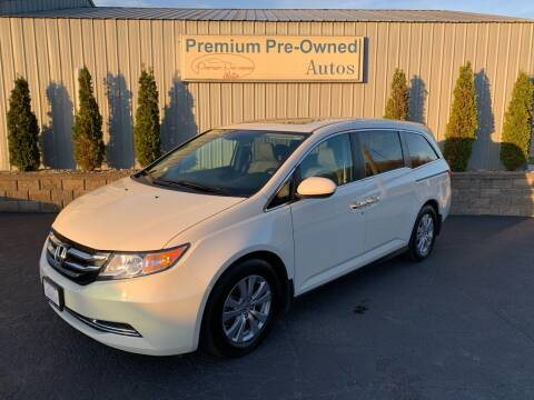 2016 Honda Odyssey for sale at PREMIUM PRE-OWNED AUTOS in East Peoria IL
