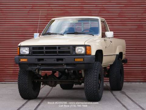 1985 Toyota Pickup for sale at Sierra Classics & Imports in Reno NV