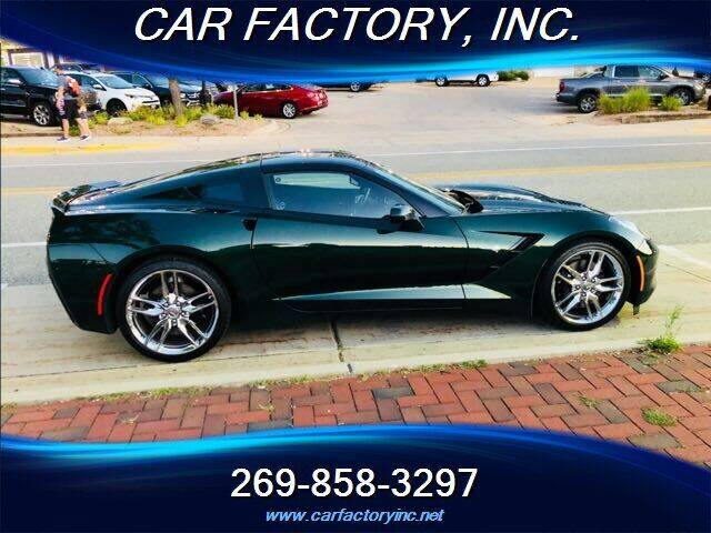2014 Chevrolet Corvette for sale at Car Factory Inc. in Three Rivers MI