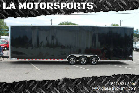 2018 United Trailers UXT for sale at LA MOTORSPORTS in Windom MN