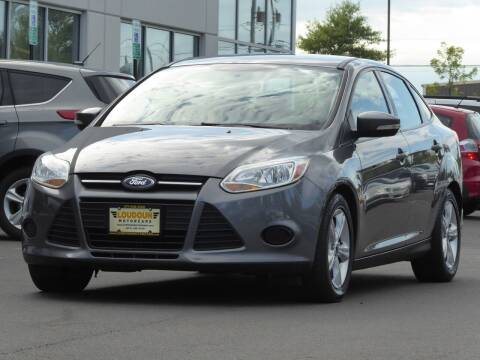 2014 Ford Focus for sale at Loudoun Used Cars - LOUDOUN MOTOR CARS in Chantilly VA