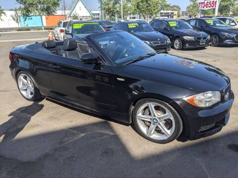2011 BMW 1 Series for sale at Convoy Motors LLC in National City CA
