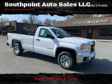 2014 GMC Sierra 1500 for sale at Southpoint Auto Sales LLC in Greensboro NC